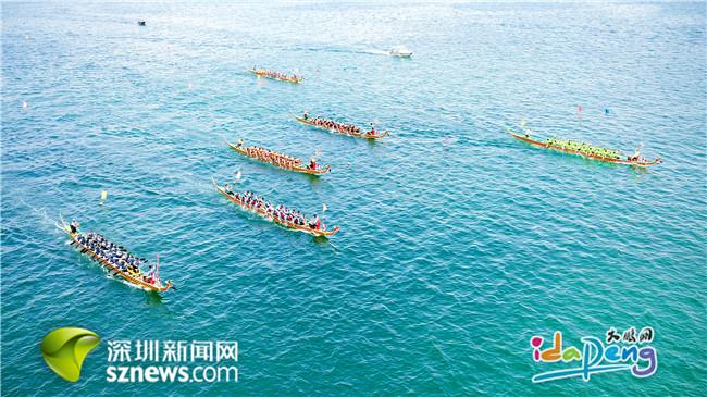 18支队伍竞渡南澳月亮湾 本土队伍19届赛事以来首夺冠
