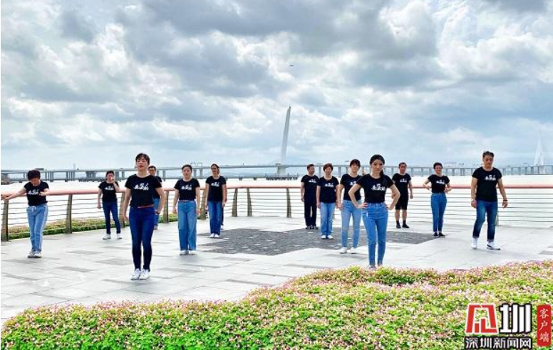 IN視頻|治水提質《妥妥的》人大代表深圳灣邊玩快閃