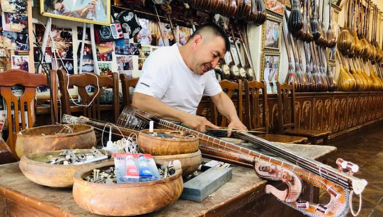 IN视频|喀什古城的手艺人  遍布在曲里拐弯的巷子里