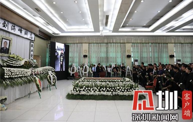 IN視頻 深圳好交警劉海峰因公殉職生命定格在47歲 市民自發送別