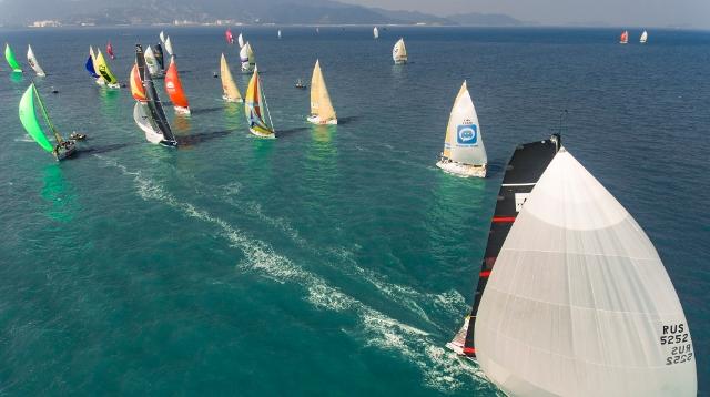IN视频 中国杯帆船赛:风到底有多大?深网记者出海拍下这一幕