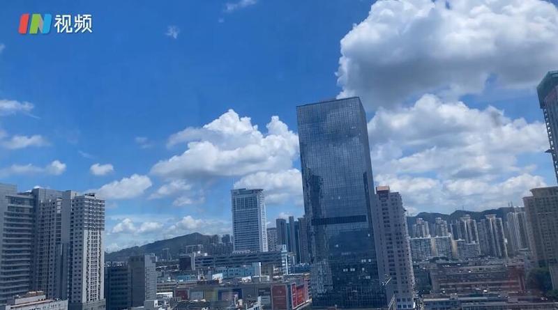 IN视频丨延时深圳6月19日:看云卷云舒,偷得云端半日闲