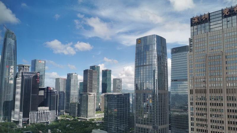 IN视频|今日深圳8月6日:白云舒展高楼静立,动静皆是画