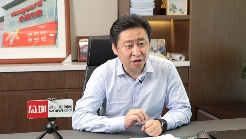 华润万家有限公司总经理徐辉:共深40 见圳创新,与万家一起美好生活!