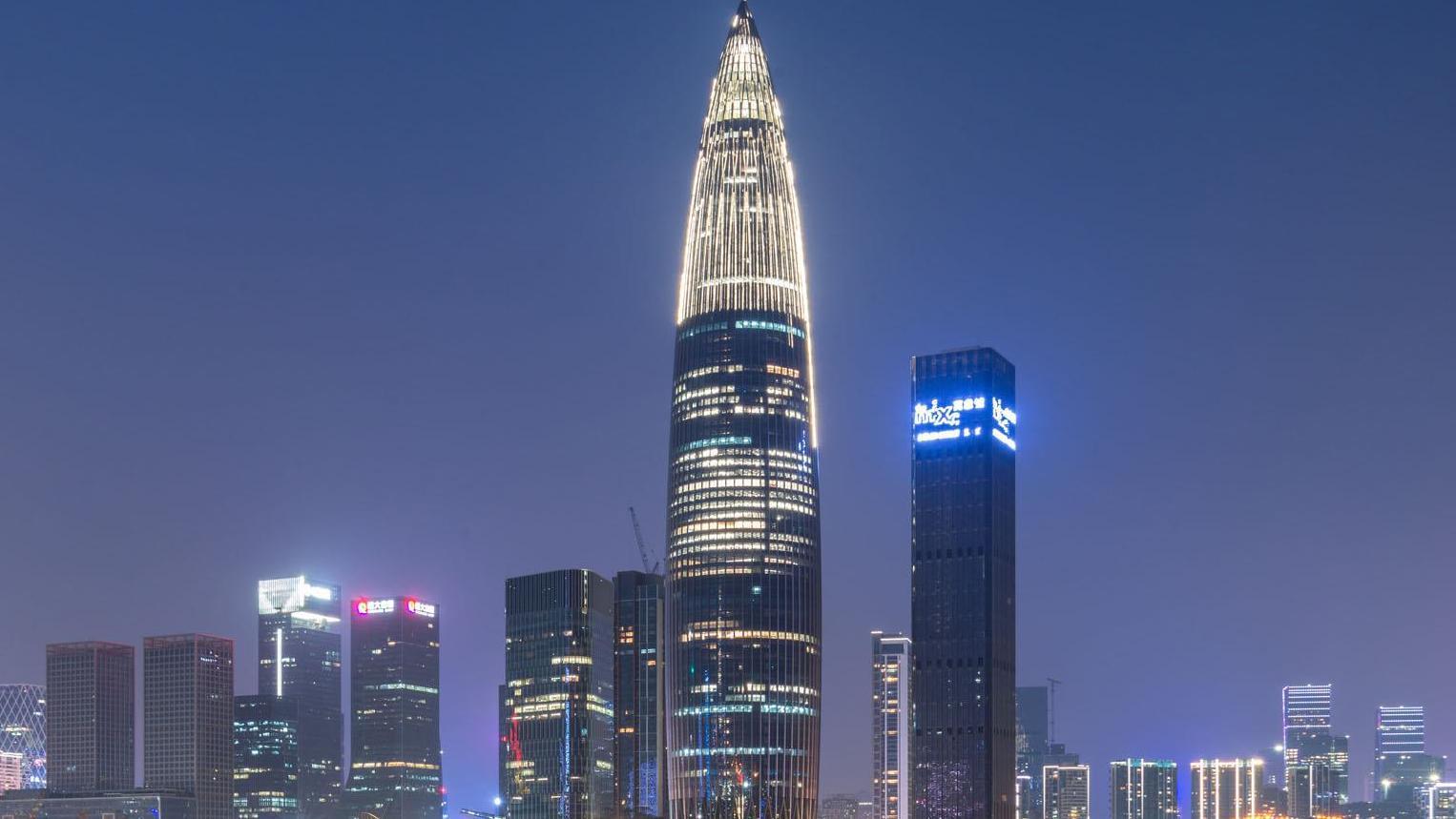 中国百强区前五名深圳占三席 南山区位居第一