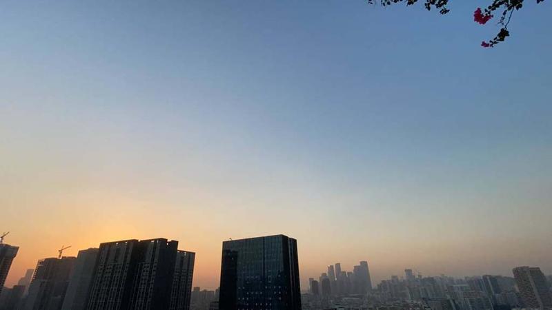 IN视频|今日深圳10月26日:鹏城锁暮色 遥寄一抹秋