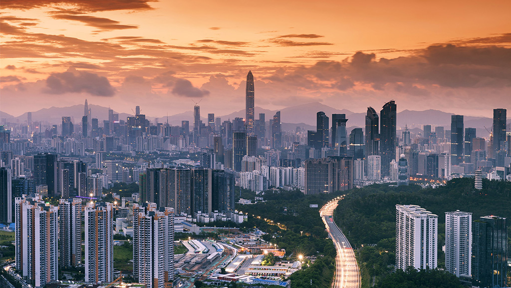 """首个海陆一体化的三维时空基准体系 深圳未来城市这里将这样""""智慧"""""""