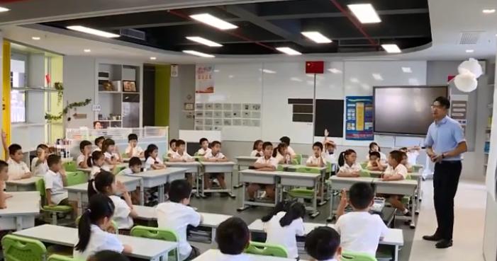 红岭实验小学开办:学校超高颜值 课程全面创新