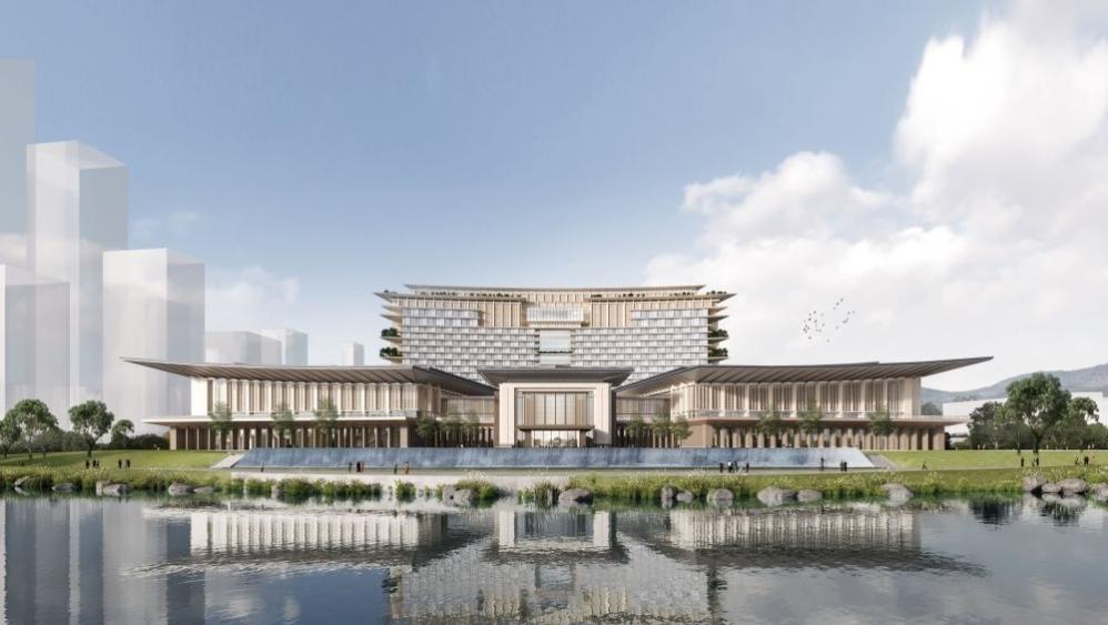 走进香蜜湖金融中心项目建设,38年香蜜湖度假村即将成为历史